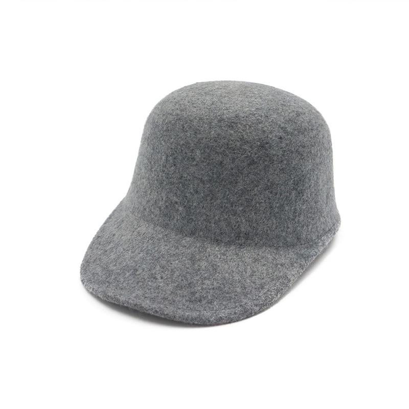 100% Wool Felt Horsemanship Hat for Women Leisure Flat Brim Fedoras Trilby Hat Lady Equestrian Cap Riding Dome Cap GH-319