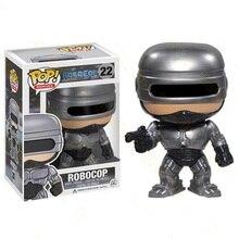 Funko POP figuras de acción de RoboCop, 22 muñecas de vinilo, juguetes brinquedos, juguete de modelo de colección para niños, regalo, colección de fanáticos de los héroes
