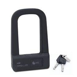 ULAC linii papilarnych blokada rowerowa przed kradzieżą-Lock blokada inteligentny bezpieczeństwa zamek rower do jazdy na świeżym powietrzu motocykl E-akcesorium rowerowe