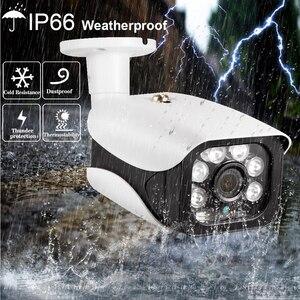 Image 5 - نظام كاميرا شبكية الأمن في الهواء الطلق IR CUT CCTV فيديو مسجل عدة تسجيل الوجه hkixdispe H.265 + 8CH 5.0MP NVR POE