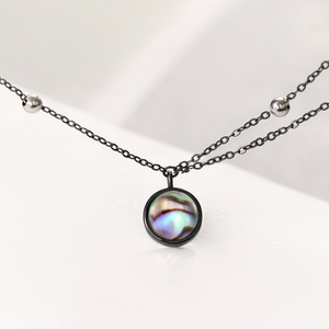 Image 5 - Thaya Star Planet Space Milky Way 100% s925 Silver Pendant Necklace Galaxy Crystal Black Chain for Women Jewelry Christmas Gift