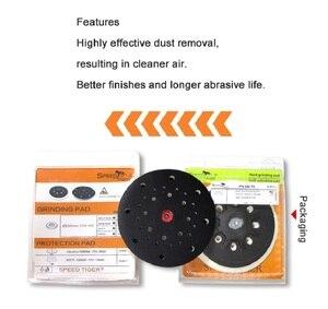 Image 4 - Plaque de ponçage douce/dure 6 pouces, 150mm, à trous multiples, plaque de support pour le polissage, meulage (lot de 1)
