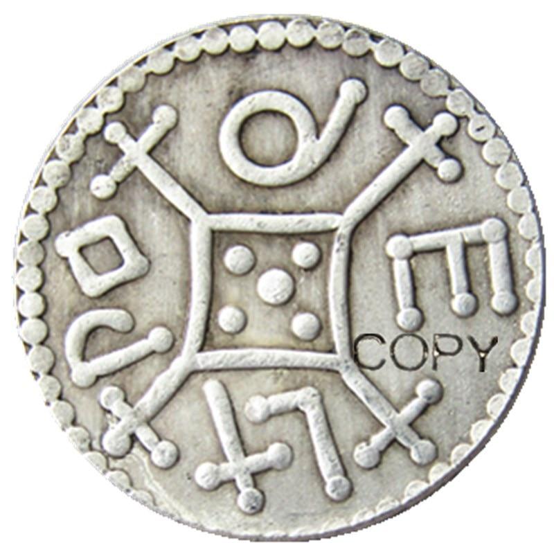 Великобритания Coenwulf 805-810 один пенни Посеребренная копия монеты
