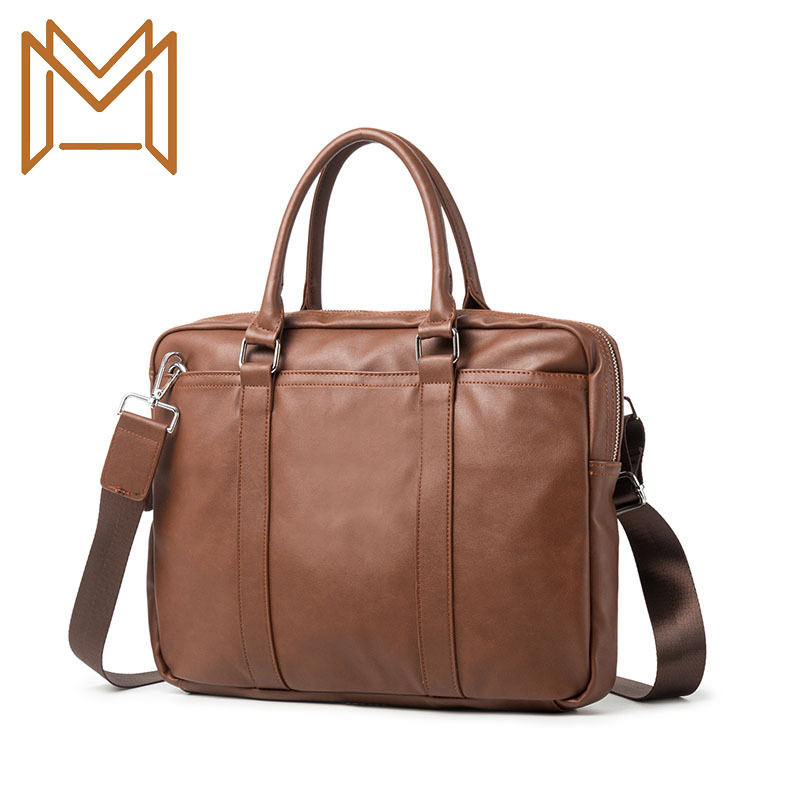 Man Business Affairs Handbag Cross Section Briefcase Leisure Time Handbag
