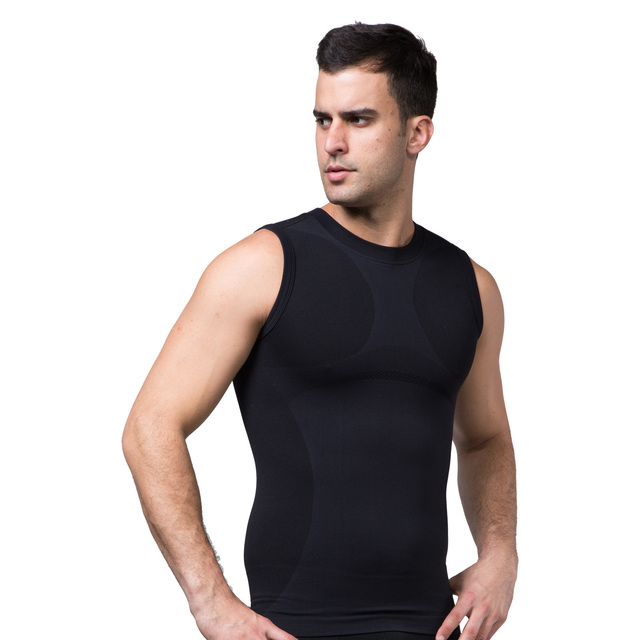 Hommes corps Shaper Sweat gilet Sweat Shapers instantanément chaud effet Sauna débardeurs Fitness perte de poids entraînement Sport chemise MS090