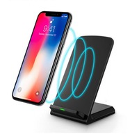 Qi Wireless Charger+Type-C Receive connector for Xiaomi Redmi Note 7 Pro Fast Charging Dock Stand Desk For Xiaomi Mi Mix 3 5G