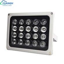 Cctv luz de preenchimento ac220v 20 pces ir infravermelho array iluminador infravermelho ip65 850nm impermeável visão noturna cctv leds para câmera