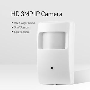 Image 2 - PoE 940nm Vô Hình Hồng Ngoại 3MP PIR IP H.265 1296 P/1080 P LED Trong Nhà An Ninh Hệ Thống Camera Quan Sát Video giám Sát Mini HD Cam P2P