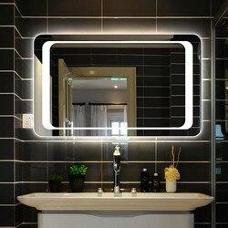 Panana светодиодный зеркала с подсветкой, зеркальный светильник для ванной комнаты с датчиком + туманоуловитель IP44, энергосберегающий светиль...