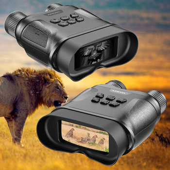 APEXEL HD Digital Night Vision Binoculars with LCD Screen Infrared (IR) camera  waterproof zoom Device For Hunting Video record 4