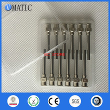High Quality 12Pcs 1 Inch Tip Length 11G Blunt Stainless Steel Glue Dispensing Needles Syringe Needle Glue Dispensing Tips