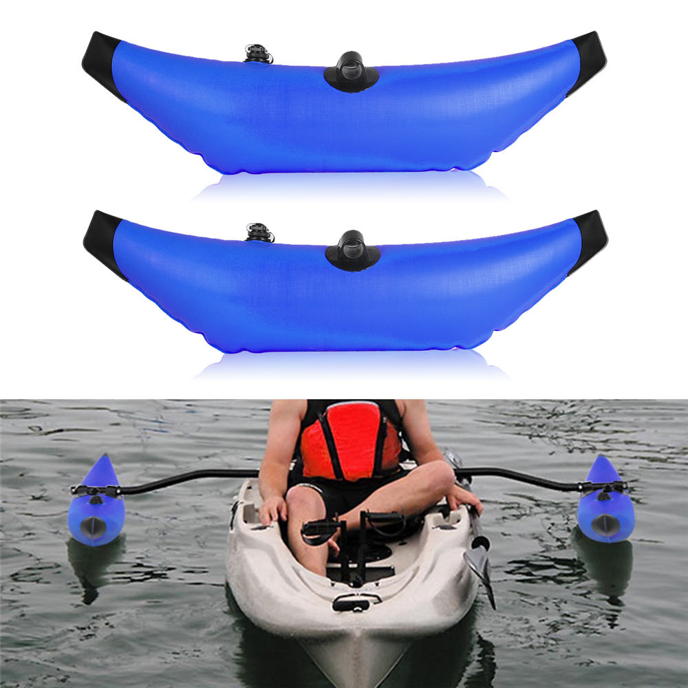 Inflatable Kayak Outriggers Stabilizers Canoe Buoy Float Standing Water Float