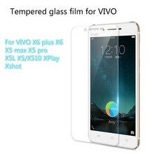 Lantro JS Phone Screen Protector for VIVO X6 plus X6 X5 max X5 pro X5L X5/X510 XPlay Xshot Tempered Glass Phone Front Film стоимость