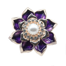 flower  love wing brooch pins rhinestone silver-color simulated pearl bow brooches for women jewelry cmajor flower shaped brooch with pearl jewelry silver gold color brooches for women