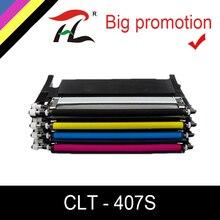 Совместимость CLT-407S clt-k407S K407S 407s k409s 409s тонер-картридж для samsung CLP-320 CLP-325W CLX-3185FW CLP-310N CLX-3170