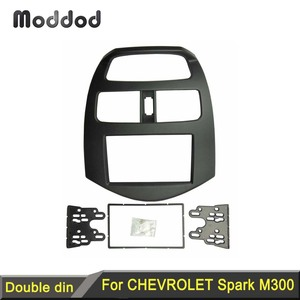 Image 1 - 2 Din Fascia für Chevrolet Funken M300 Daewoo Matiz Holden Radio GPS DVD Stereo CD Panel Dash Mount Installation Trim kit