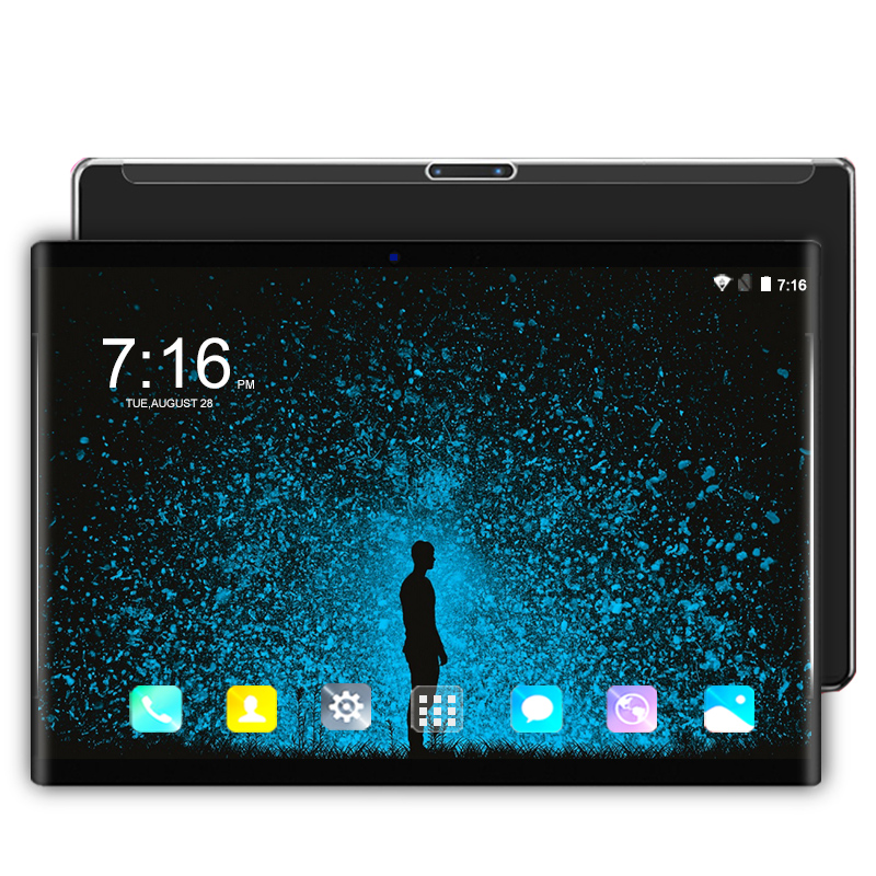 Android 9.0 10.1 Inch Tablet Pc Octa Core 6gb+128gb 3g/4g LTE Smartphone Google Play WIFI 1280*800 IPS Cheapest Tablet For Kids