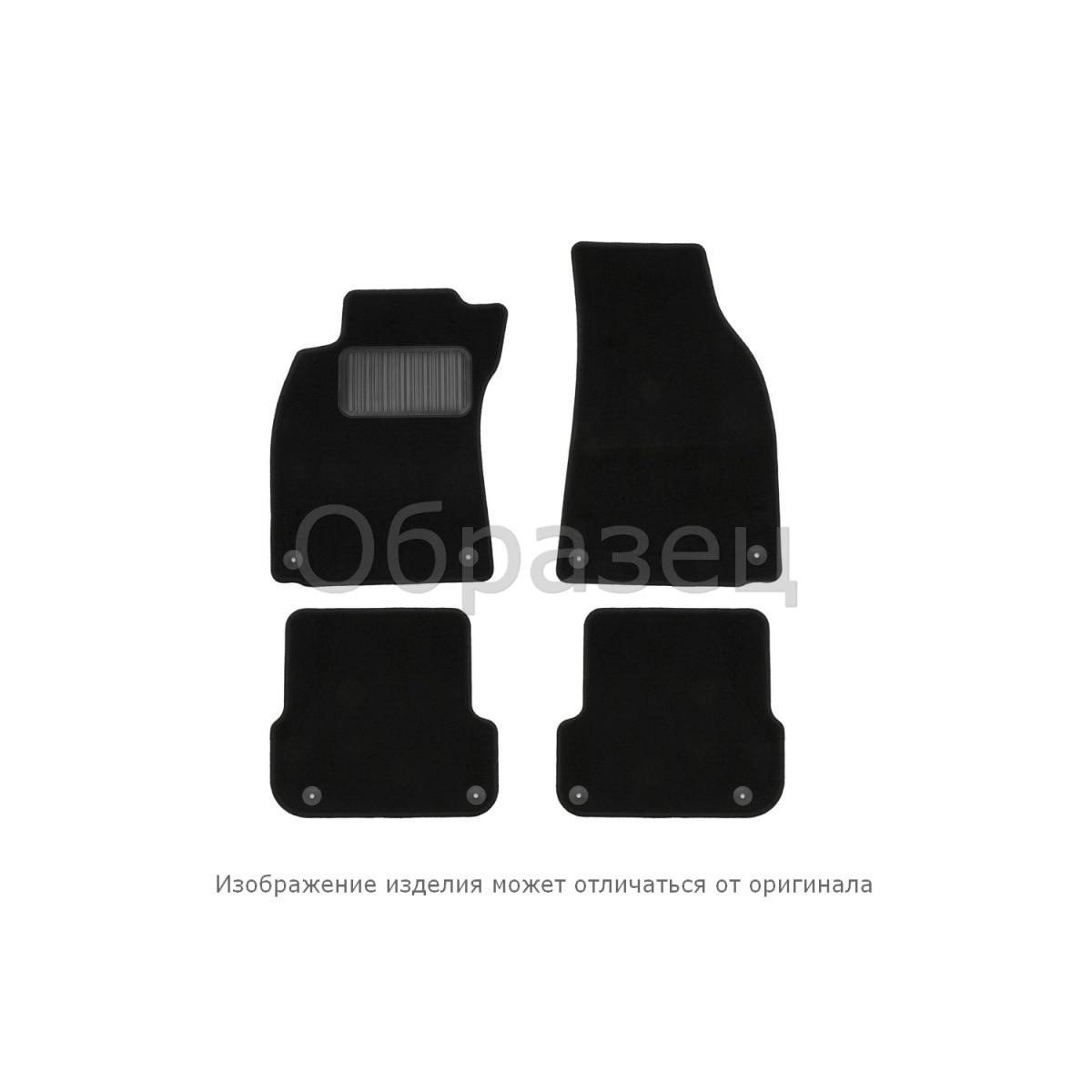 Floor mats Mitsubishi Pajero 2006 > implement. 4 PCs (textile Floor Mats     - title=