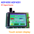 Dykb ADF43501 ADF4350 RF Sorgente Del Segnale di Frequenza di Scansione Bordo onda sinusoidale 35 M-4.4G con DISPLAY TFT Touch screen display