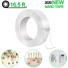 Adhesive Gadget Nano-Traceless-Tape Sticker Glue Disks-Tie Removable Washable Double-Sided