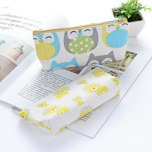 Learn Stationery New Creative Pen bag simple canvas pencil case