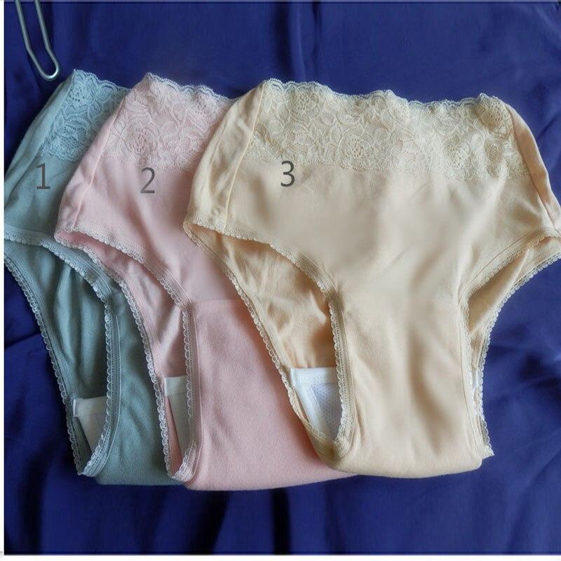 Женские кружевные подгузники для взрослых, для женщин, можно мыть ткань, подгузники, старая моча, не влажный подгузник, штаны, недержание водонепроницаемого нижнего белья
