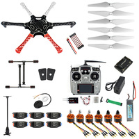 F05114-AQ 6-axle RC Aircraft Hexacopter Helicopter RTF Drone with AT10 TX/RX 550 Frame GPS APM2.8 Flight Controller Battery