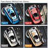 High quality ABS Car Key Case Auto Key Protection Cover For BMW F07 F10 F11 F20 F25 F26 F30 Accessories Holder With Keyring promo