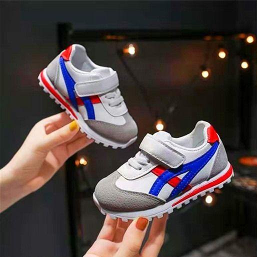 2020 New Children Sports Shoes For Boys Girls Baby Toddler Kids Flats Sneakers Fashion Casual Infant Soft Shoe
