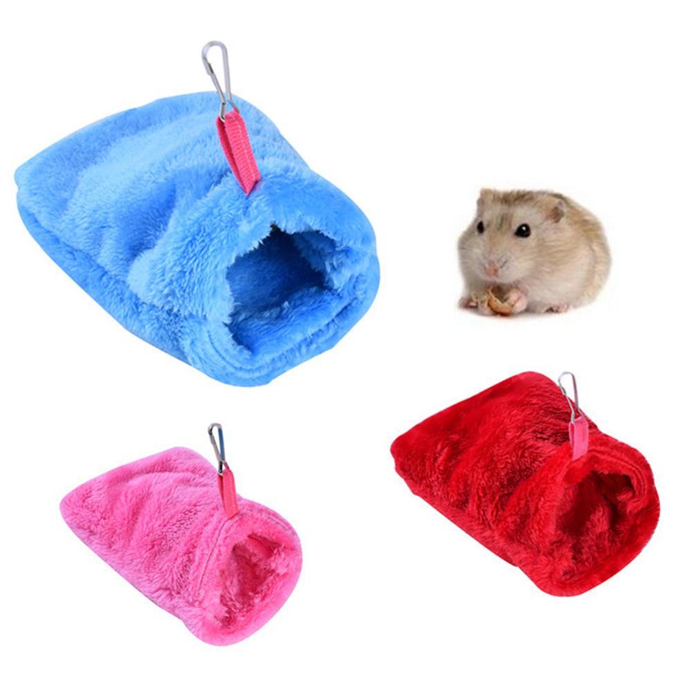 Hamster Bird Hedgehog Squirrel Nest Small Animal Warm Soft Sleeping Bag Bed Pet Supplies