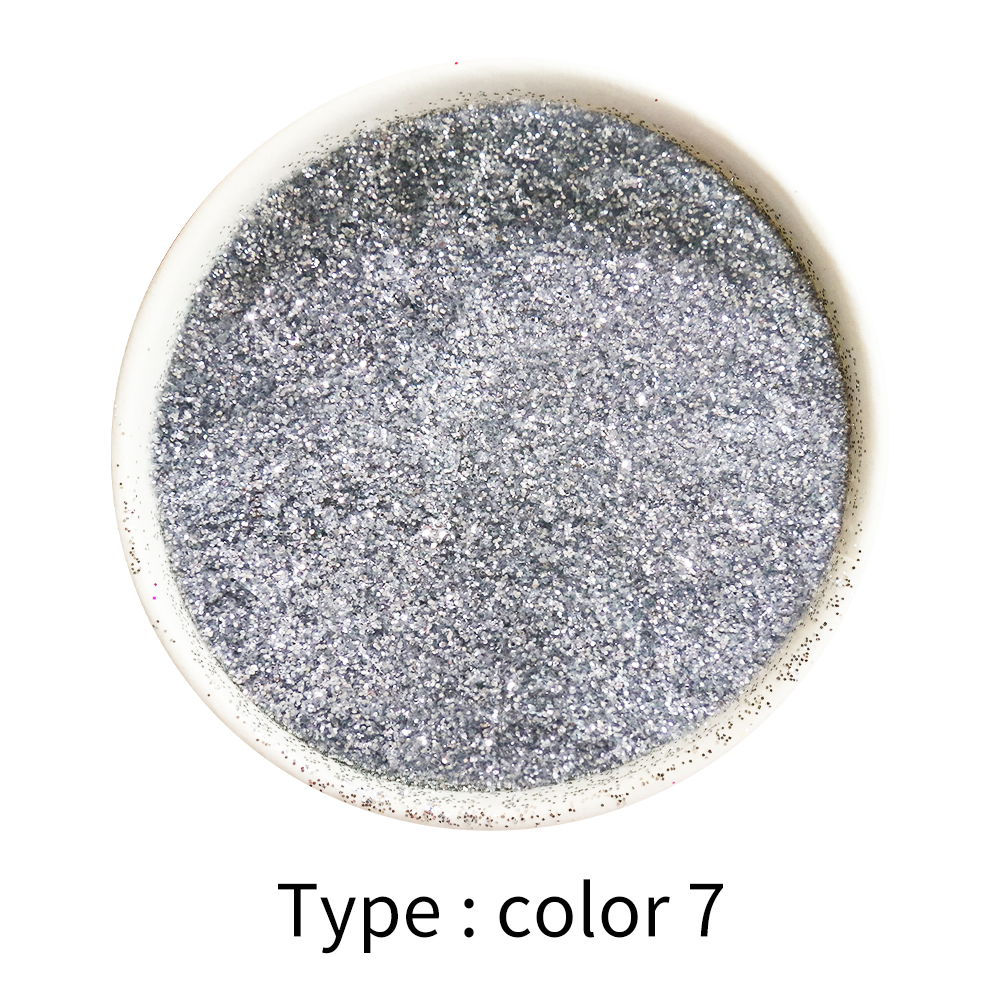 50g Glitter Powder Pigment Coating Bright Silver Paint Powder For Paint Nail Decoration Automotive Art Craft Mica Powder Pigment