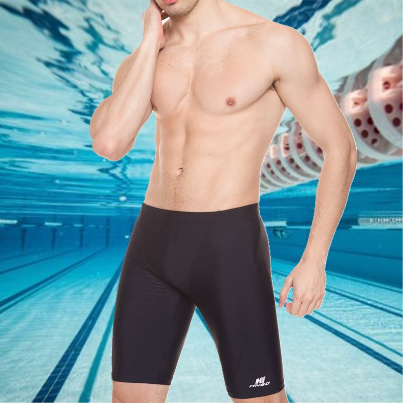 HNSD MEN'S Swimming Trunks Short Boxer Large Size Shark Skin Swimming Product Sports Swimming Trunks