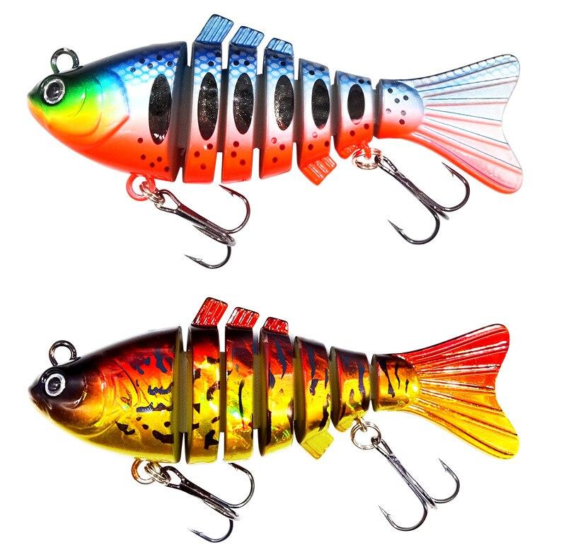 Рыболовная приманка 95 см/24 г 7 секций свимбейт рыболовная