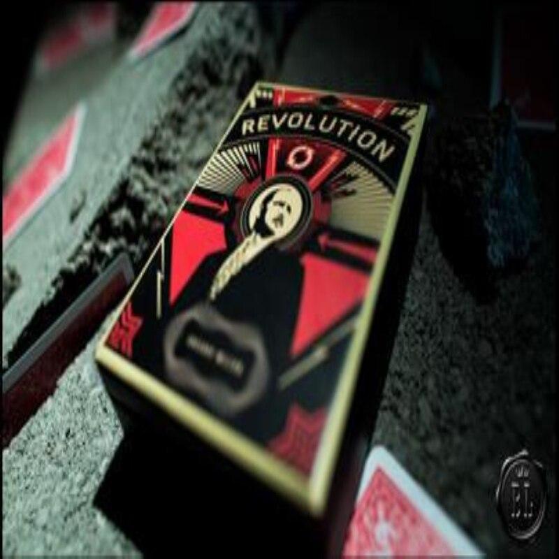 Revolution Gimmick Und Anweisungen Greg Wilson, Magie Trick, Bühne Magie, Comedy, Close Up, Klassische, illusionen, Karte Magia, Spielzeug