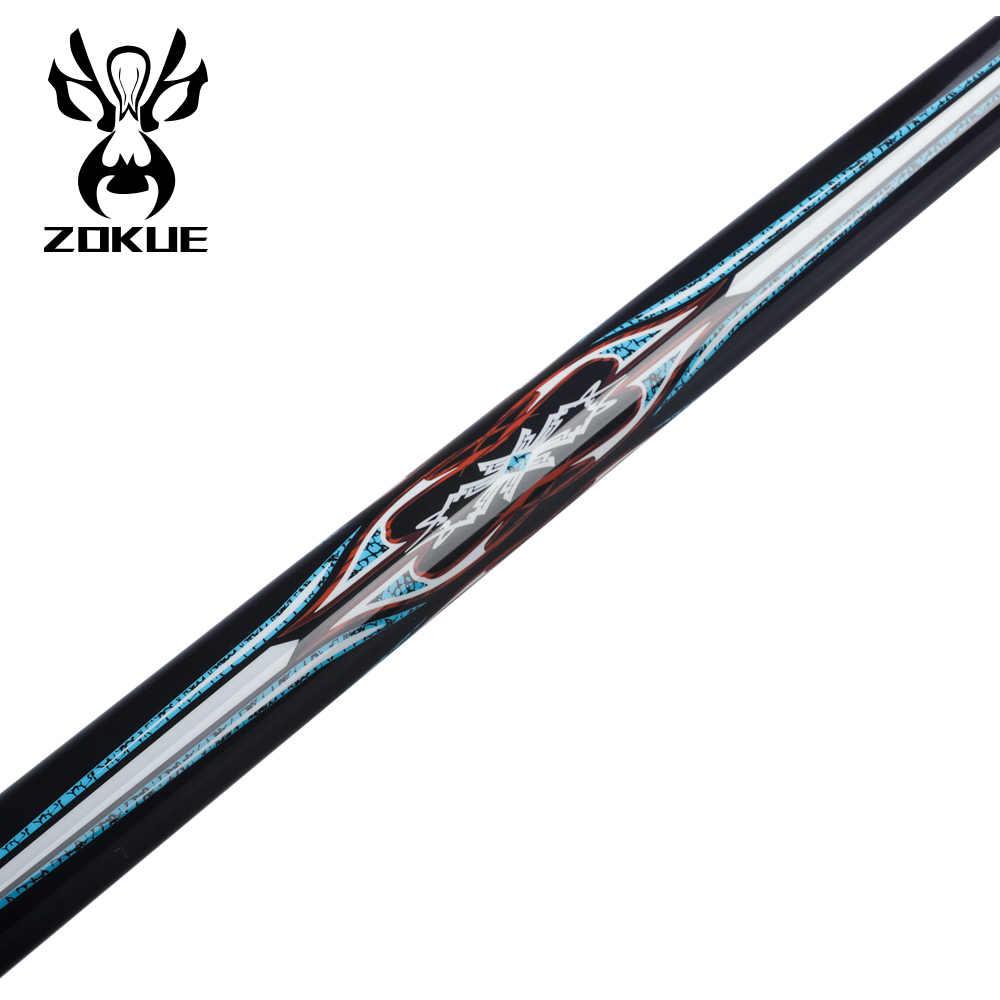 ZOKUE bilard Cue koreański 3 poduszka Cue Carom Cue Taper 12mm SKY-FAY Tip 142 cm Hard Maple Shaft Fit Extension