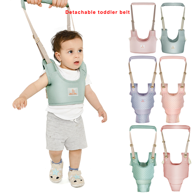 Hot Sale Baby Walker Protable Baby Harness Assistant Toddler Leash For Kids Learning Training Walking Baby Toddler Belt