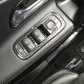5 шт./компл. автомобиля ABS Окно Панель управления подъемом декоративная крышка для Mercedes Benz A класс W177 A180 A200 A250 2019 2020 стайлинга автомобилей
