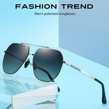 Men Polarized Sunglasses Men Women Square Style 2020 aviation Brand Designer