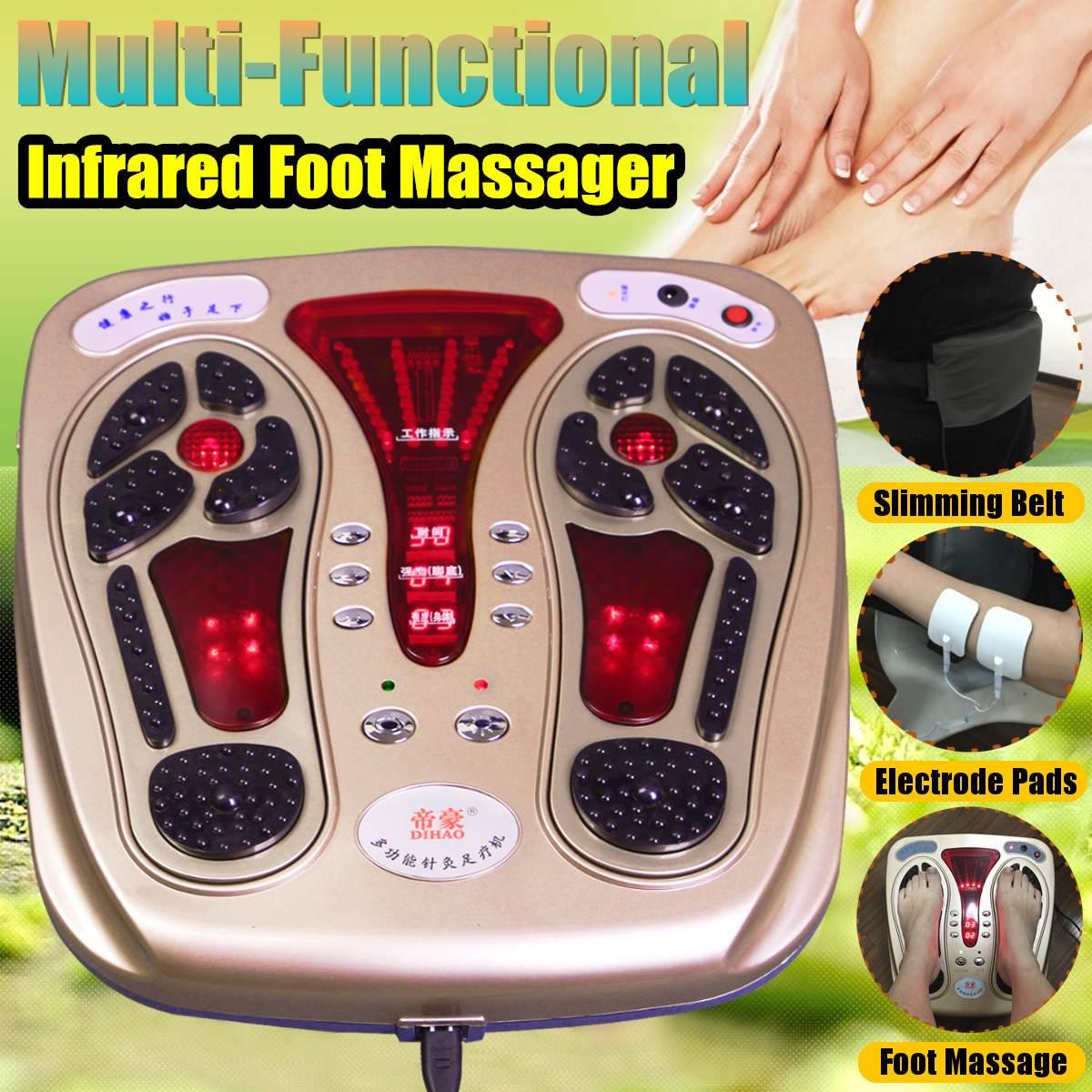 Urządzenie do masażu stóp-elektryczna terapia masażem urządzenie relaksacyjne do krążenia krwi łydek i zapalenia powięzi podeszwowej