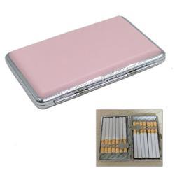 Skórzany pokrowiec na papieros kobieta Slim papieros 100mm trzymaj pudełko etui na papierosy na 14 sztuk XN245 X2V1