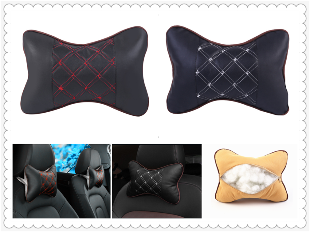 Auto safety pillow car headrest breathing seat head rest cushion for BMW E34 F10 F20 E92 E38 E91 E53 E70 X5 M M3