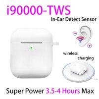 Оригинал i90000 TWS 1:1 наушники-вкладыши Bluetooth 5,0 беспроводные наушники гарнитура PK W1 H1 чип Aire2 audifono para celular elari