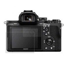 עצמי דבק מזג זכוכית/סרט LCD מסך מגן כיסוי עבור Sony A7 השני/A7R III / A7S3 a7s Mark II III / A7R IV A9 A7C