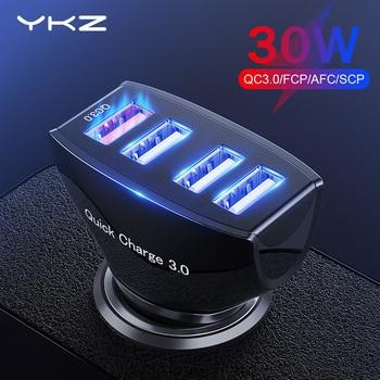 CC01 4 Ports USB-C Car Charger