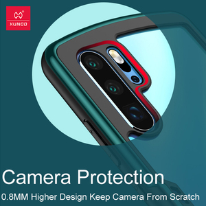 Image 4 - Xundd kılıfı için Huawei P30 Pro kılıf şeffaf kapak yumuşak geri monte koruyucu kapak kabuk için hava yastığı Huawei P30 Pro coque