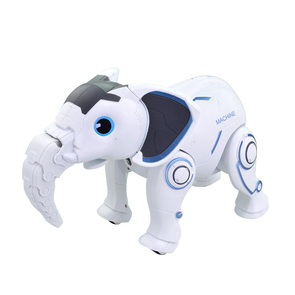 Wireless Elephant Robot Interactive Children Toy Singing Dancing Remote Control Elephant Shape Robot Toy Early Education