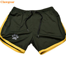 2019 New Clawgear Mens summer Sand shorts Fashion compression Fast drying  Bodybuilding Slim fit swimming trunks