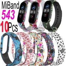 Silicone Wristband For Xiaomi Mi Band 5 Bracelet Screen Protector Miband 6 5 4 3 Strap Miband6 Miband5 Miband4 Miband3 Film