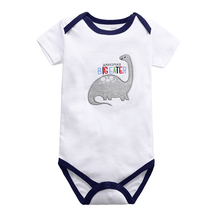Baby Clothing Body Short-Sleeve Babies Girls 3-24-Months 100%Cotton