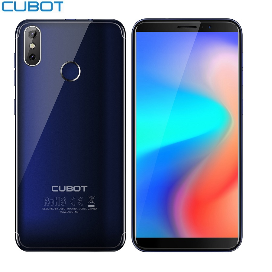 Cubot J3 PRO 4G Android 16GB WCDMA/LTE/GSM Quad Core Fingerprint Recognition 13mp Refurbished